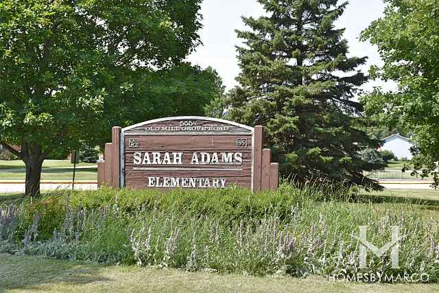 Sarah Adams Elementary in Lake Zurich, IL, Homes For ... on